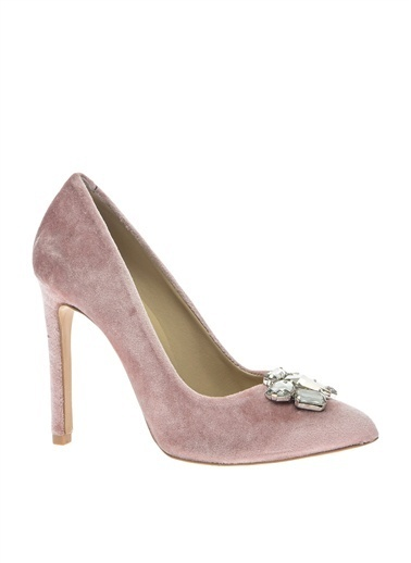 House Of Camellia Topuklu Ayakkabı Pembe
